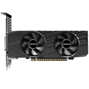 GIGABYTE NVIDIA GeForce GTX 1650 D6 OC Low Profile 4G