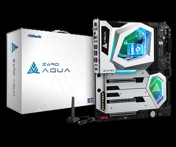 Intel Z490; E-ATX; 4 DIMM; 3x PCIe x16 (x16, x8, x4); 2x PCIe x1;  3 SSD=PCIe Gen3 x4 & SATA3, 1 SSD for RKL, 1 WiFi Key E Module; HDMI 1.4