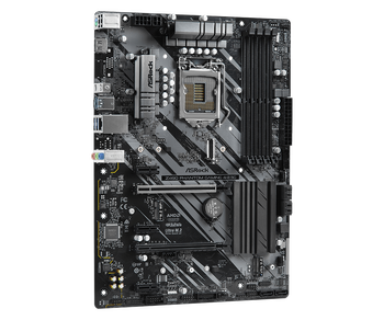 Intel Z490; ATX; 4 DIMM; 2x PCIe x16 (x16, x4);  3x PCIe x1; 1 PCIe Gen3 x4 & SATA3, 1 WiFi Key E; HDMI; 2x Rear USB 3.2 Gen2 (type A + C)