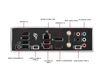 ASUS AMD ATX ROG Strix B550-E Gaming Motherboards