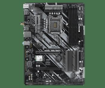 Intel Z490; ATX; Socket 1200; 4 x DDR4 DIMM; 2 PCIe 3.0 x16, 3 PCIe 3.0 x1; 6 SATA3, 1 Ultra M.2 (PCIe Gen3 x4 & SATA3); 2 USB3.2 Gen2 (Rear Type-A+C)