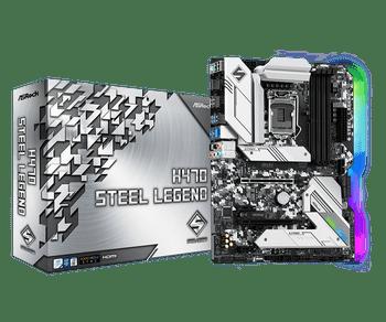 Intel H470; 4 DDR4 DIMM; 2 PCIe 3.0 x16, 2 PCIe 3.0 x1, 1 M.2 WiFi Key E; 6 SATA3, 2 Ultra M.2 (PCIe Gen3 x4 & SATA3); 2 USB 3.2 Gen2), 7 USB 3.2 Gen1