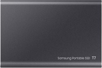 Portable SSD T7, 1TB, Titan Gray, USB3.2, Type-C, R/W(Max) 1,050MB/s, Aluminium Case, 3 Years Warranty
