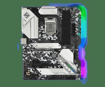Intel B460; 4 DDR4; 2 PCIe 3.0 x16, 2 PCIe 3.0 x1, 1 M.2 WiFi Key E; 6 SATA3, 1 Ultra M.2 (PCIe Gen3 x4 & SATA3), 1 Ultra M.2 (PCIe Gen3 x4); 7 x USB