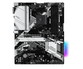 AMD B550; 4 DDR4; PCIe 4.0 x16, PCIe 3.0x16, 2 PCIe 3.0x1, M.2 WiFi Key E; 6 SATA3, Hyper M.2 (PCIe), M.2 (PCIe); 2 USB 3.2 Gen2, 6 USB 3.2 Gen1