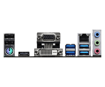 AMD B550; 2 DDR4 ; PCIe 4.0 x16; 4 SATA3, Hyper M.2 (PCIe Gen4 x4 & SATA3); 6 USB 3.1 Gen1 (2 Front, 3 Rear Type-A, 1 Rear Type-C); Graphics: DP, HDMI