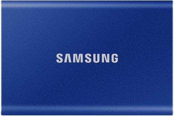 SAMSUNG Portable SSD T7 Touch 2TB Indigo Blue, Fingerprint unlock