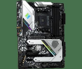 AMD X570; 4 DDR4; 2 PCIe 4.0 x16, 3 PCIe 4.0 x1; 8 SATA3, Hyper M.2 (PCIe Gen4 x4 & SATA3), Hyper M.2 (PCIe Gen4 x4); 2 USB 3.2 Gen2 , 10 USB 3.2 Gen1