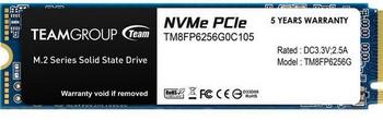 TEAM SSD MP33 256G (NVME)