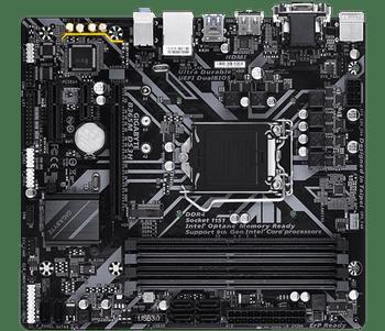 INTEL B365 UltraDurable MB GIGABYTE 8118, PCIe Gen3 x4 M.2, 7 colors RGB LED strips support, AntiSlfr Resist, Smrt Fan 5, DualBIOS