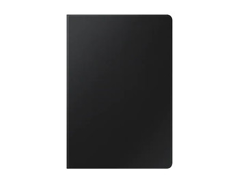 Tab S7+ Book Cover Black