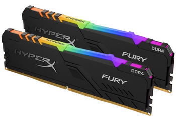 32GB 3600MHz DDR4 CL17 DIMM (Kit of 2) HyperX FURY RGB