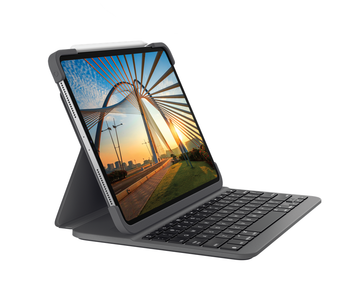 "Logitech iPad Slim Folio Pro for iPad Pro 11"" (1st/2nd Gen), W/ Apple Pen Holder, 1yr Wty"