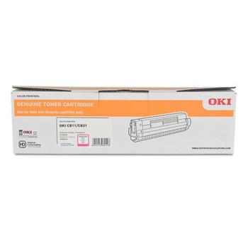 Oki C831N Magenta Toner Cartridge