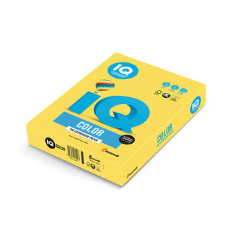 IQ Color 180093958 CY39 Canary Yellow Mondi A4 80gsm Tinted Paper
