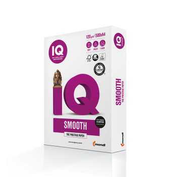 IQ Smooth 180090405 120gsm Mondi A4 Digital Grade Paper