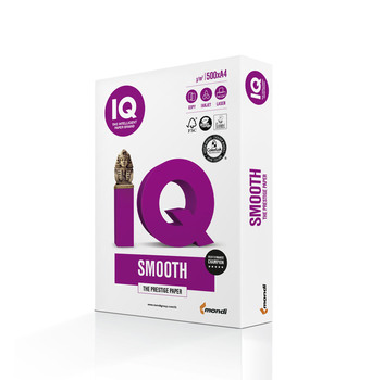IQ Smooth 180090399 160gsm Mondi A4 Digital Grade Paper
