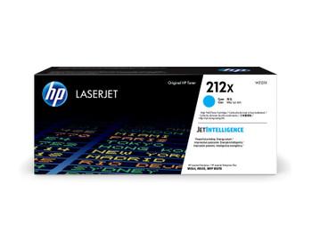 HP 212X (W2121X) LaserJet M554/M555/M578 High Yield Cyan Toner Cartridge