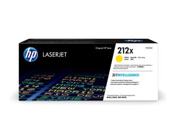 HP 212X (W2122X) LaserJet M554/M555/M578 High Yield Yellow Toner Cartridge