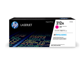 HP 212A (W2123A) LaserJet M554/M555/M578 Standard Yield Magenta Toner Cartridge