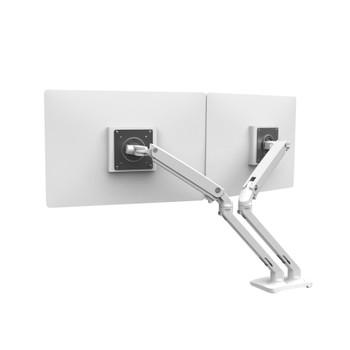 Ergotron MXV Desk Dual Monitor Arm (White)