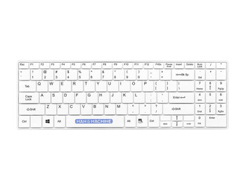 Its Cool Wireless Open-style Keyboard White