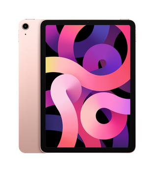 "Apple iPad Air (4th Generation) 10.9"" Wi-Fi 64GB - Rose Gold"
