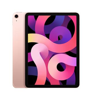 "Apple iPad Air (4th Generation) 10.9"" Wi-Fi + Cellular 256GB - Rose Gold"