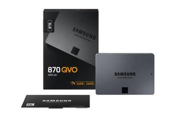 "Samsung SSD 870 QVO 8TB, MZ-77Q8T0BW, 2.5"" 7mm SATA (560MB/s Read, 530MB/s Write), 3 Year Warranty"