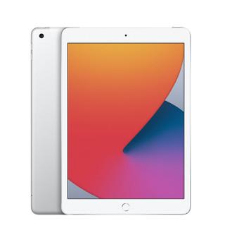 "Apple iPad (8th Generation) 10.2"" Wi-Fi + Cellular 32GB - Silver"