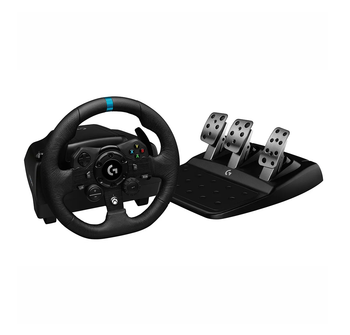 Logitech G923 Racing Wheel and Pedals for Ps4/pc, True Force- 2yr Wty