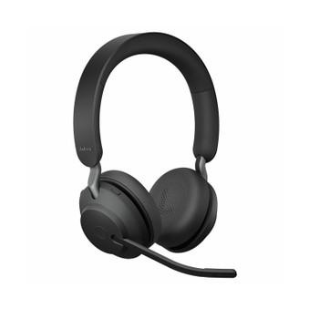 Jabra Evolve2 65 Link380c UC Stereo Stand Black