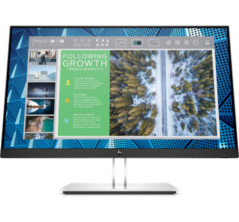 """HP E-Series E24q G4 23.8"""" IPS 16:10 QHD Monitor"""