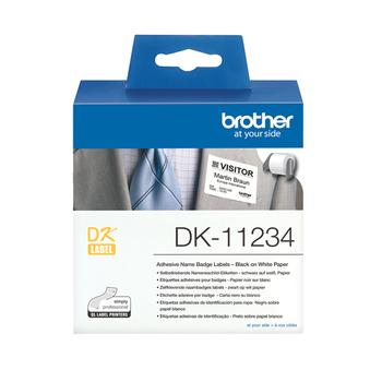 Brother DK11234 NameBadge Label