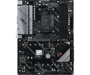 AMD X570; 4 DDR4 DIMM; 2 PCIe 4.0 x16, 2 PCIe 4.0 x1, M.2 WiFi Key E; 8 SATA3, Hyper M.2 (PCIe Gen4 x4 & SATA3), Hyper M.2 (PCIe Gen4 x4); 12 USB 3.2
