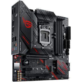 ASUS Intel ROG Strix B460 G Gaming motherboard 10th gen Intel LGA 1200 CPU sockets, 4 DDR4 memory slots, PCI-E 3.0, 2 M.2 slots