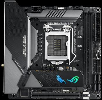 ASUS Intel ROG Strix Z490-I Gaming Z490 (WiFi 6) LGA 1200 (Intel 10th Gen) Mini-ITX Gaming Motherboard 8+2 Power Stages, DDR4 4800