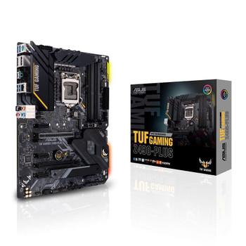 ASUS Intel Z490 (LGA 1200) ATX gaming motherboard with M.2, 14 DrMOS power stages, Intel 1Gb LAN, HDMI, DisplayPort, SATA 6 Gbps, USB 3.2 Gen 2 ports
