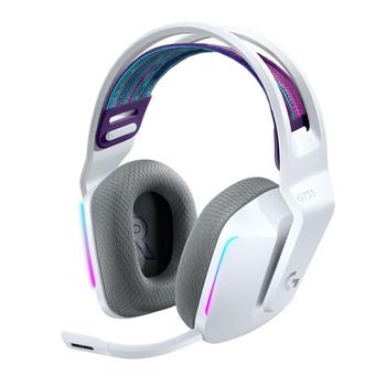 Logitech G733 LIGHTSPEED Wireless RGB Gaming Headset WH