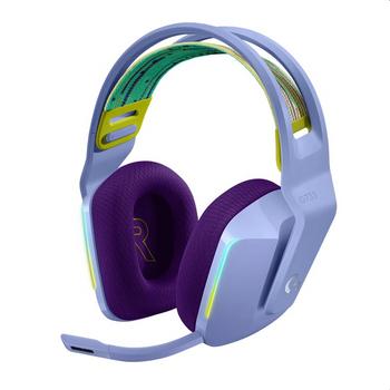 Logitech G733 LIGHTSPEED Wireless RGB Gaming Headset Lilac