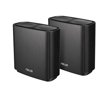 ASUS AC3000 Tri-band Whole-Home Mesh WiFi System, Coverage up to 5,400 Sq. ft, 3Gbps WiFi, life-time free network security & parental control, 3 SSIDs