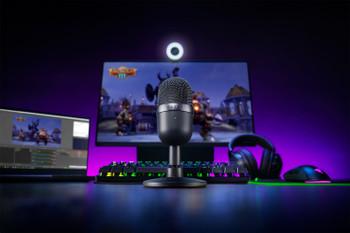 Razer Seiren Mini - Ultra-Compact Condenser Microphone - Mercury - FRML Packaging