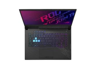 ROG Strix G15, i7-10750H, Win10-H, 15.6 FHD 240Hz, 16GB (2 x 8GB), 512G PCIE, RTX 2070-GDDR6 8GB, Original Black, 2 Yr PUR