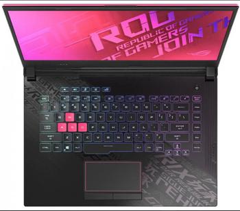 ROG Strix G15, i7-10870H, Win10-H, 15.6 FHD 144Hz, 16GB DDR4, 512G PCIE, RTX 2060-GDDR6 6GB, , Electro Punk, 2 Yr PUR