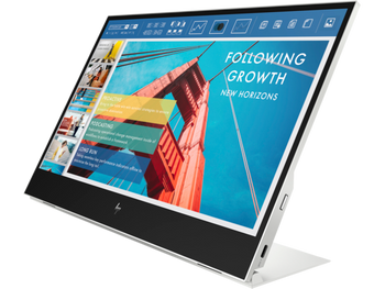"HP E14 G4 Portable Monitor, 14"" FHD, 1920x1080, USB-C, Power Pass-Through, 3YR WTY (replaces 3HX46AA)"