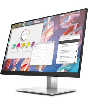 "HP E24 G4 23.8"" FHD IPS Monitor with Eye Ease 16:9, 1920x1080, VGA+DP+HDMI, Tilt, Swivel, Pivot, Height, USB, 3 Yrs (replaces E243 1FH47AA)"