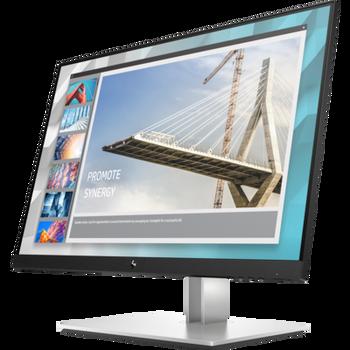 """HP E24i G4, 24"""" WUXGA IPS, EYE EASE, 16:10, 1920x1200, VGA+DP+HDMI,  Tilt, Swivel, Pivot, Height, USB, 3 Yrs (replaces E243i 1FH49AA)"""