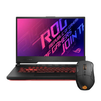 Asus ROG Strix G512LI-AL024T I7 Gaming Notebook + Rival 500 Mouse Bundle