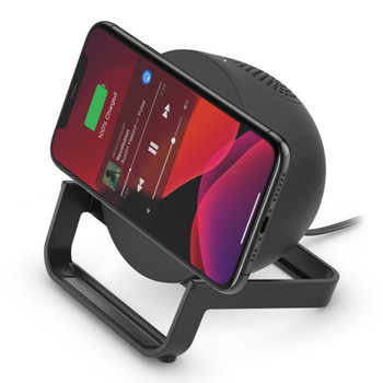 Belkin BOOST↑CHARGE™ 10W QI Wireless Charging Stand + Speaker