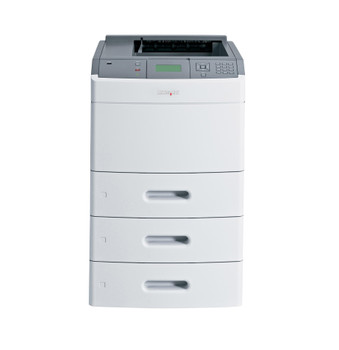 Lexmark T652dn 33ppm A4 Mono Laser Printer + 2 Trays (Second Hand - Used)